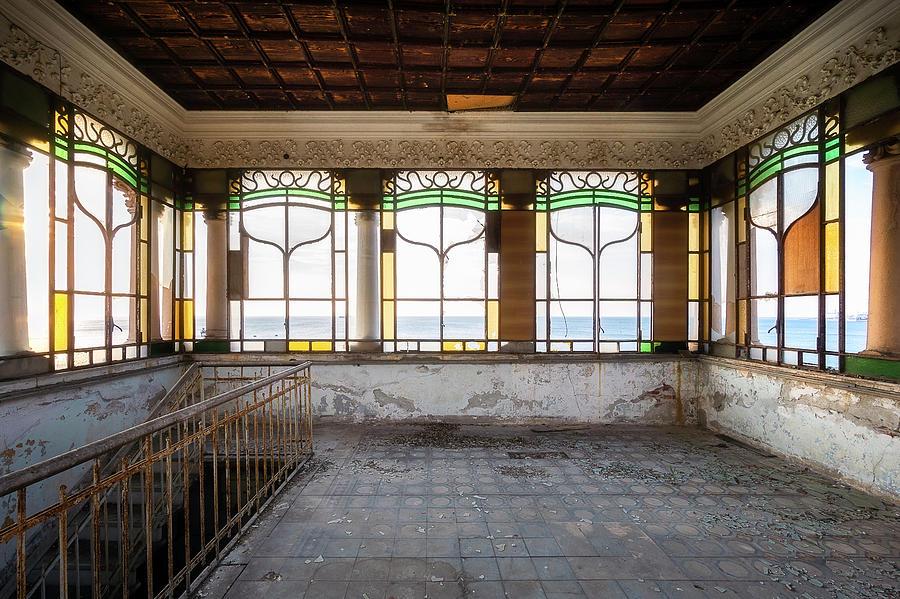 Abandoned Art Nouveau Villa by Roman Robroek
