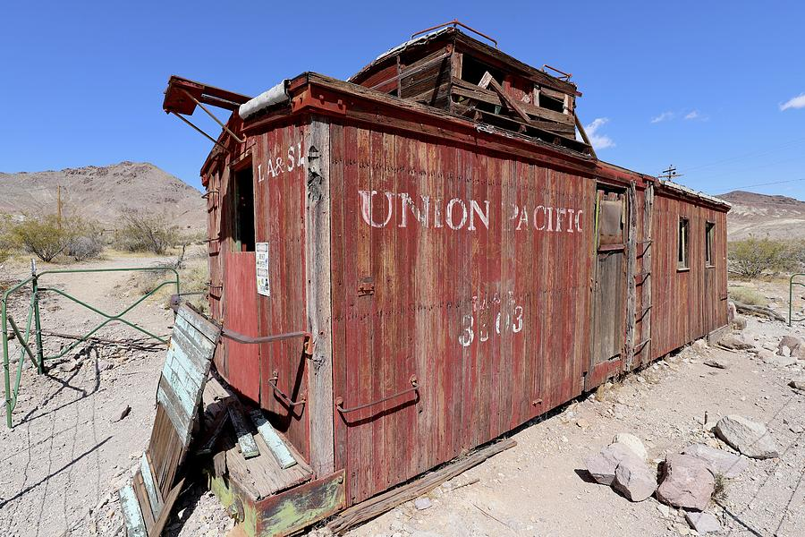 Union Pacific Photograph - Abandoned by Maria Jansson
