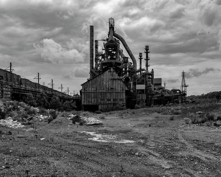 Abandoned Steel Mill by Cathy Kovarik