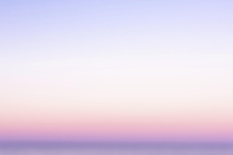 Abstract Sunrise Over Water Photograph