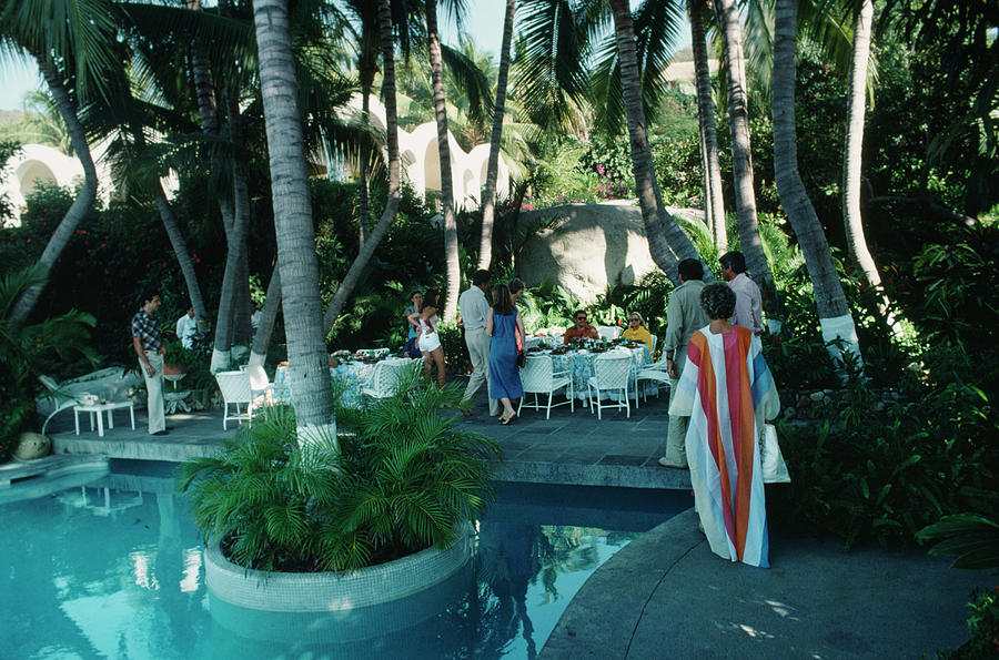 Acapulco Pool Photograph by Slim Aarons