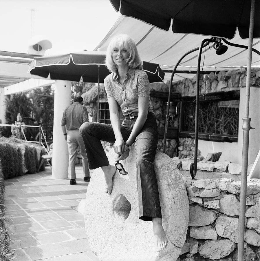 Actress Mireille Darc At Leisure 1 Photograph by Keystone-france