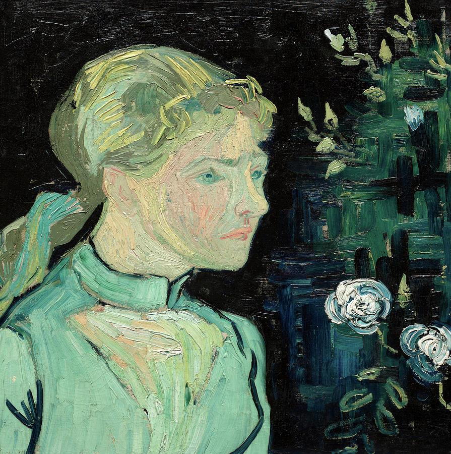 Vincent Van Gogh Painting - Adeline Ravoux, 1890 by Vincent van Gogh