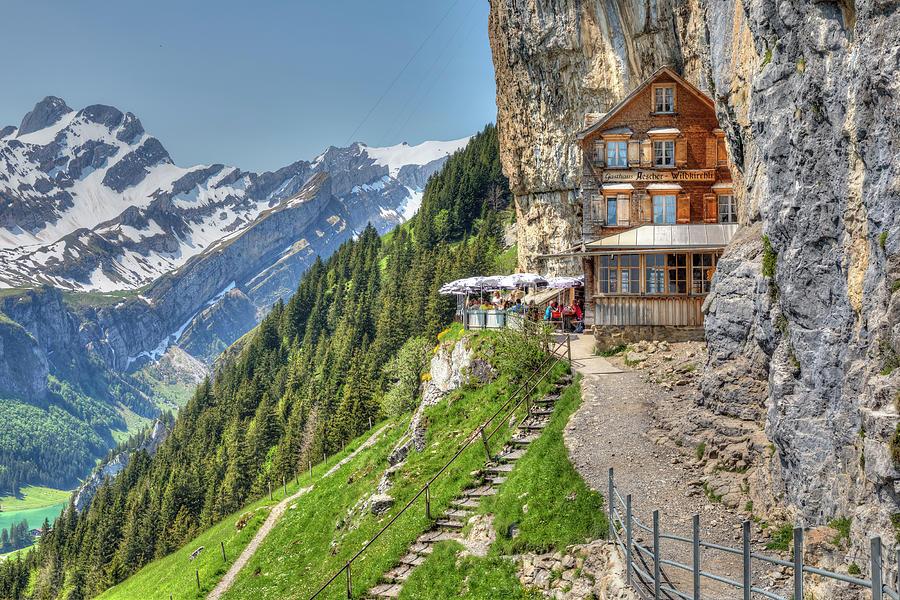 Aescher - Switzerland by Joana Kruse