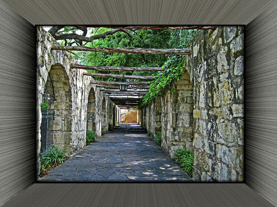 Alamo Walkway 2 by Richard Risely