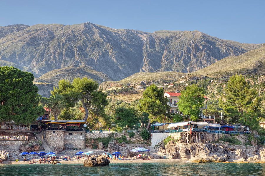Albanian Riviera Photograph by Davelongmedia