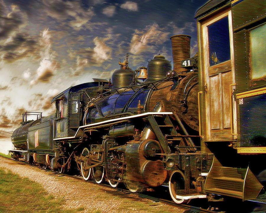 Alberta Prairie Railway by Anthony Dezenzio