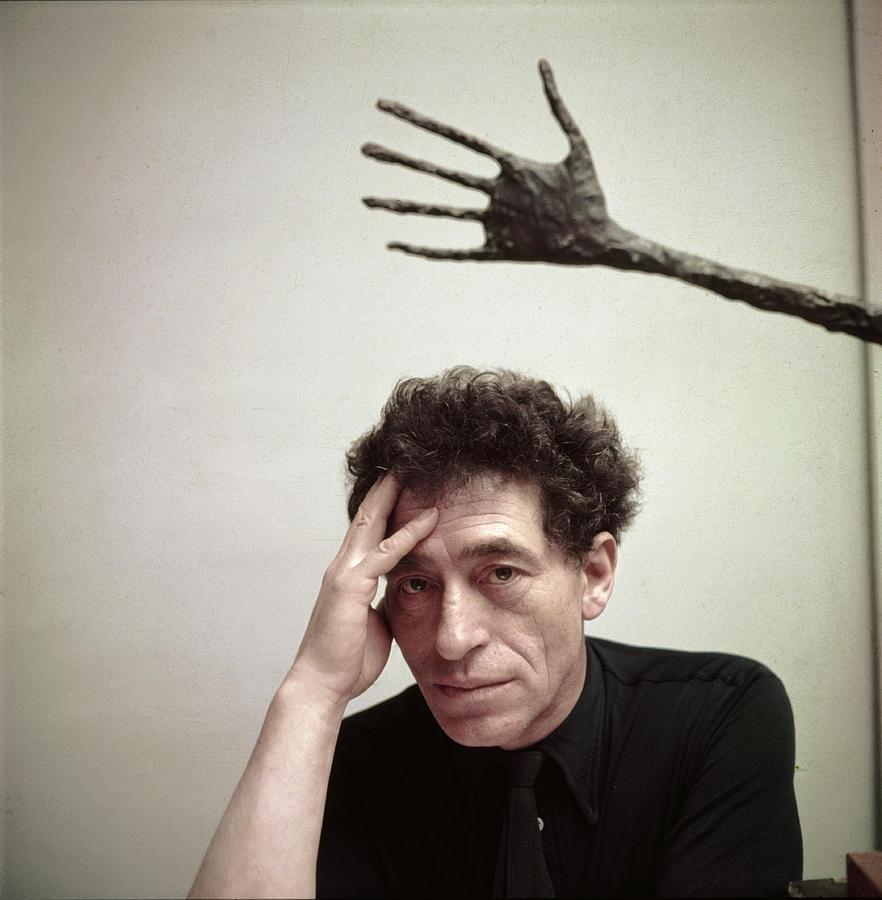 Alberto Giacometti Photograph by Gordon Parks