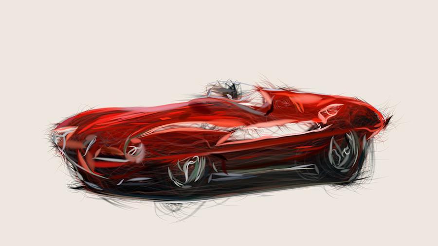 Alfa Romeo Disco Volante >> Alfa Romeo C52 Disco Volante Touring Spider Draw 1