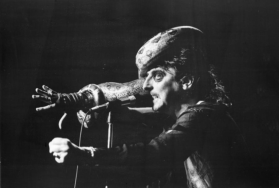 Alice Cooper At Msg Photograph by Fred W. McDarrah
