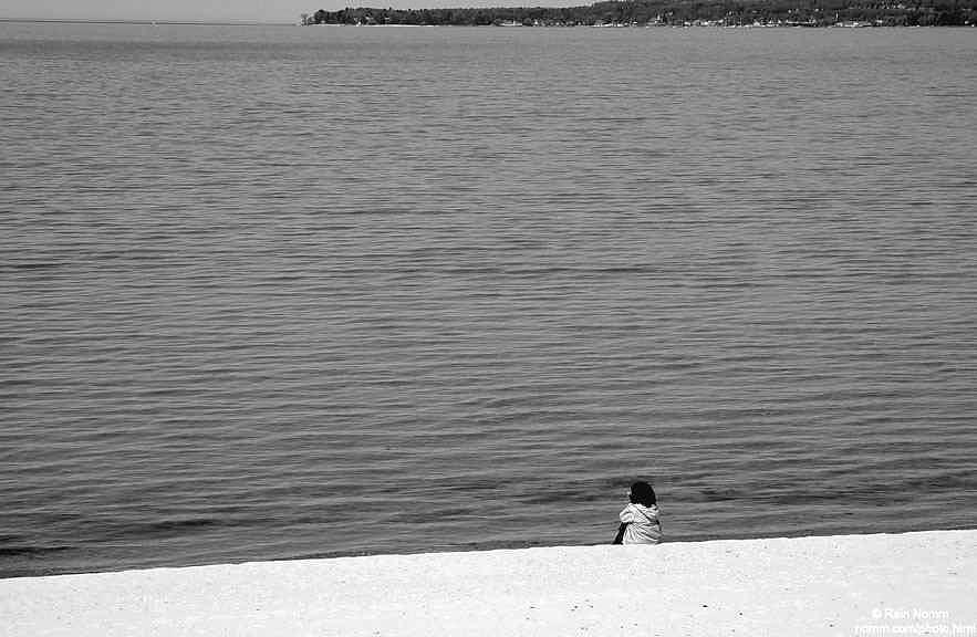 Alone by Rein Nomm
