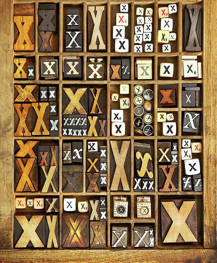 Alphabet Photograph by Daryl Benson