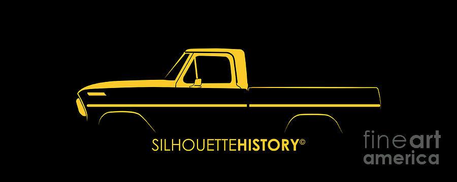 American Pickup SilhouetteHistory by Balazs Iker