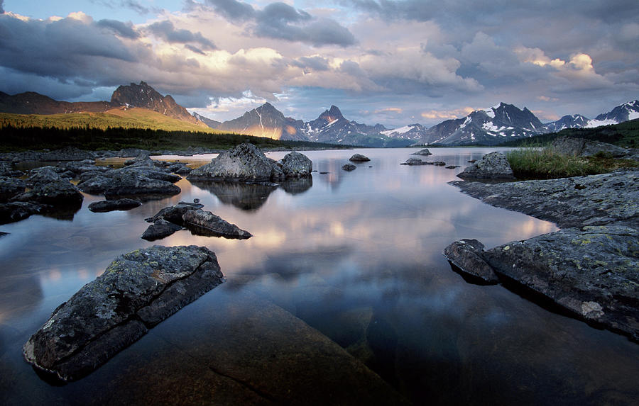 Amethyst Lake, Jasper National Park Photograph by Art Wolfe