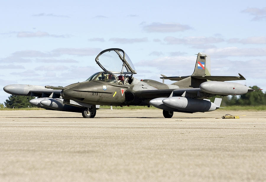 An A-37b Dragonfly Of The Uruguayan Air by Erik Roelofs