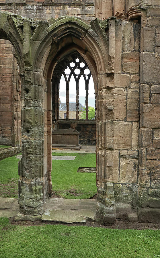 An Elgin Cathedral View by Dave Mills