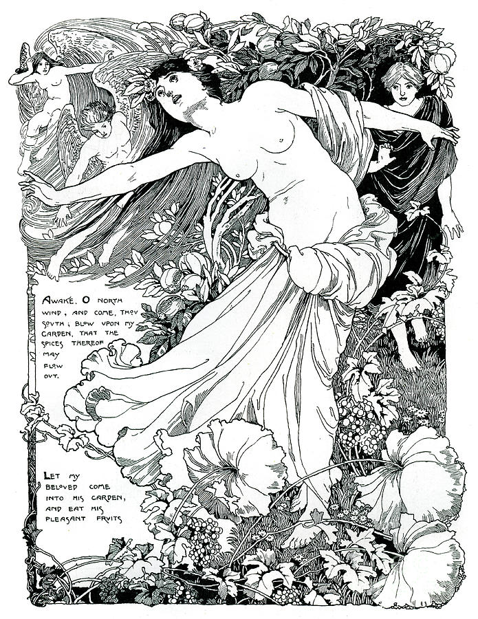 An Illustration For The Song Drawing by Print Collector