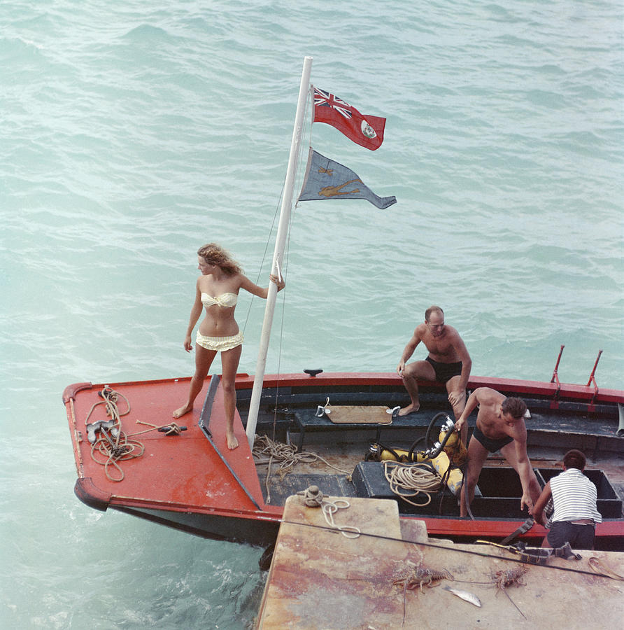 Andros Island Photograph by Slim Aarons