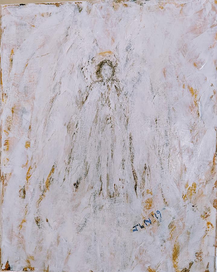 Angel in the clouds  by Jennifer Nease
