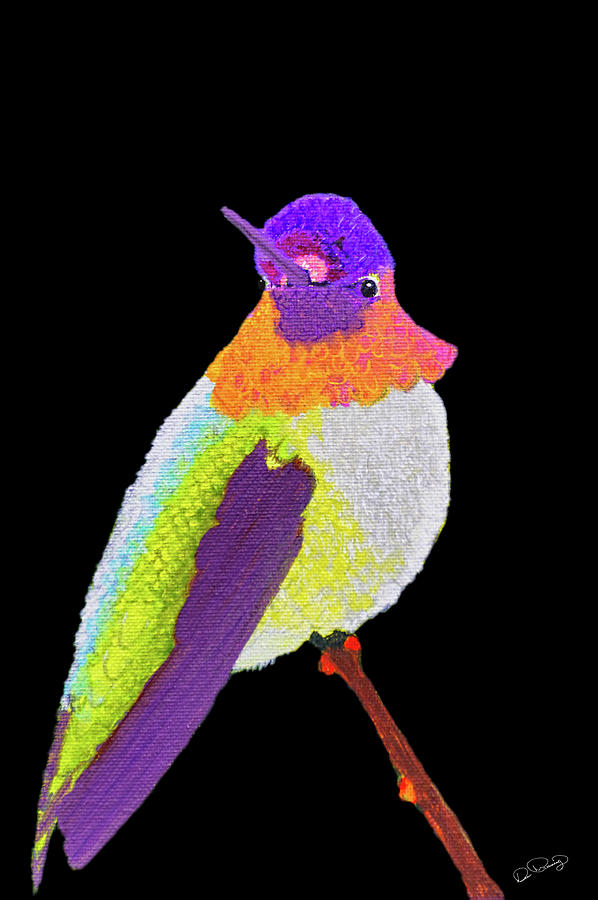 Anna's Hummingbird I by Dee Browning