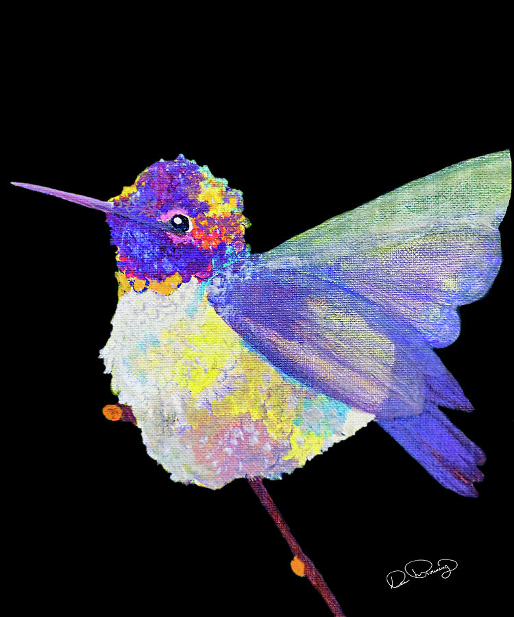 Anna's Hummingbird III by Dee Browning