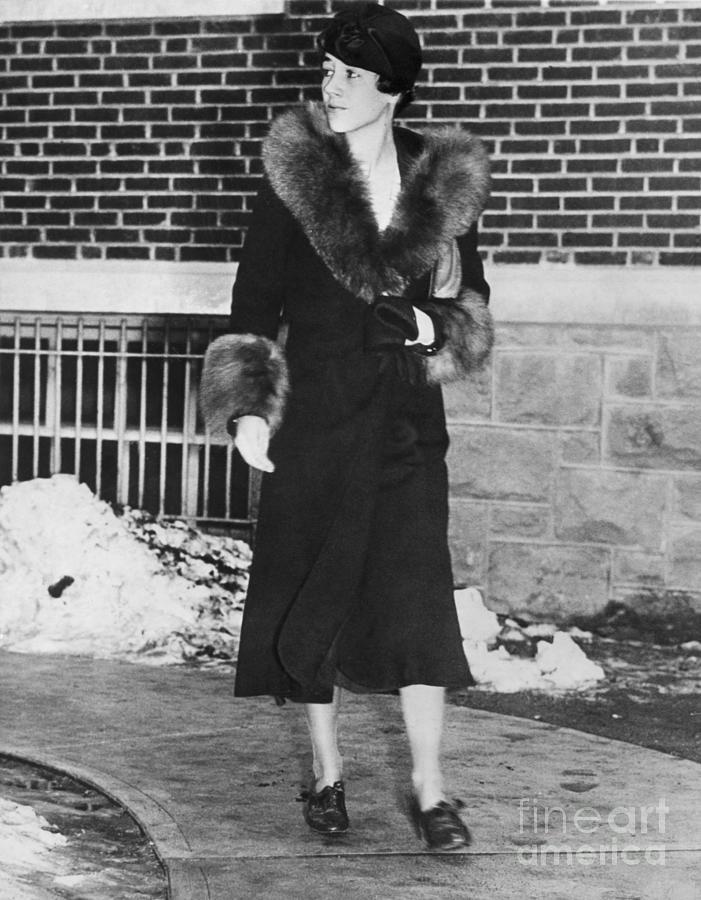 Anne Morrow Lindbergh Photograph by Bettmann
