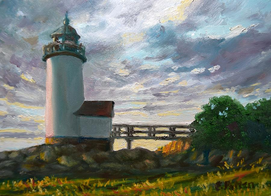 Annisquam Light by Eileen Patten Oliver