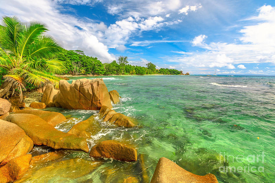 Anse Severe La Digue by Benny Marty
