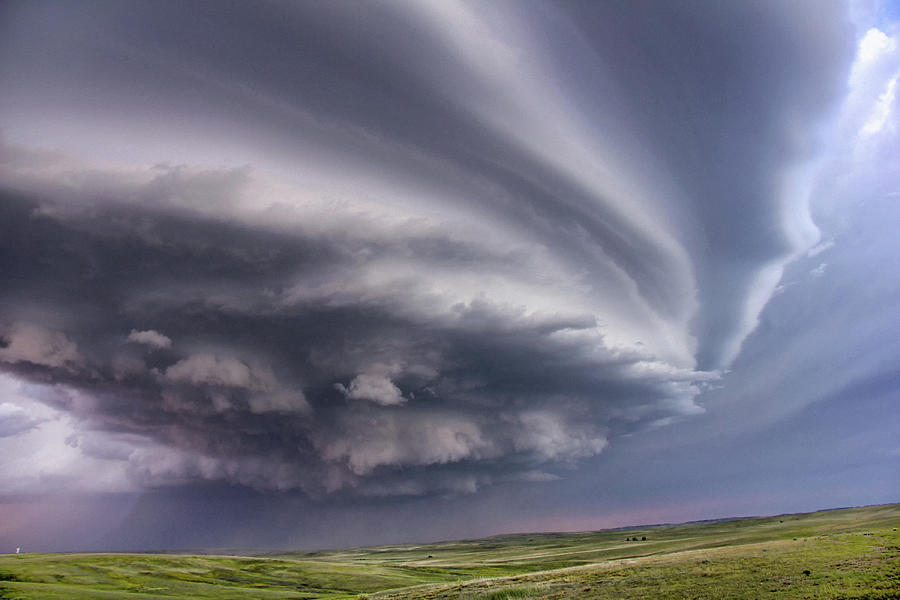 Anticyclonic Supercell Thunderstorm Photograph by Jason Persoff Stormdoctor