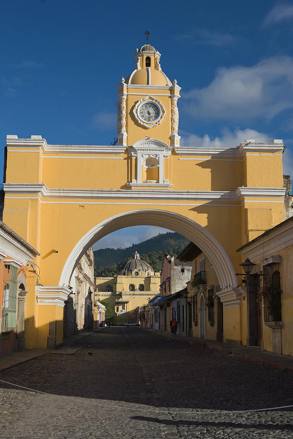 Antigua Old Town, Guatemala Photograph by Michele Falzone