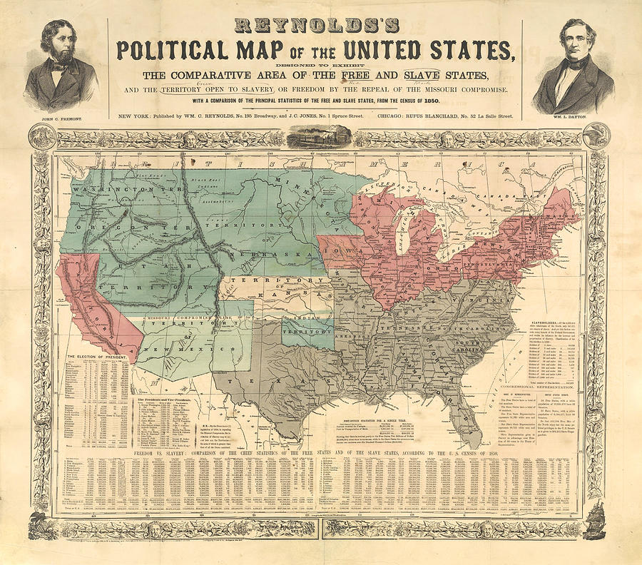 Antique Political Map Of The United States Old Cartographic Map Antique Maps Digital Art By Siva Ganesh