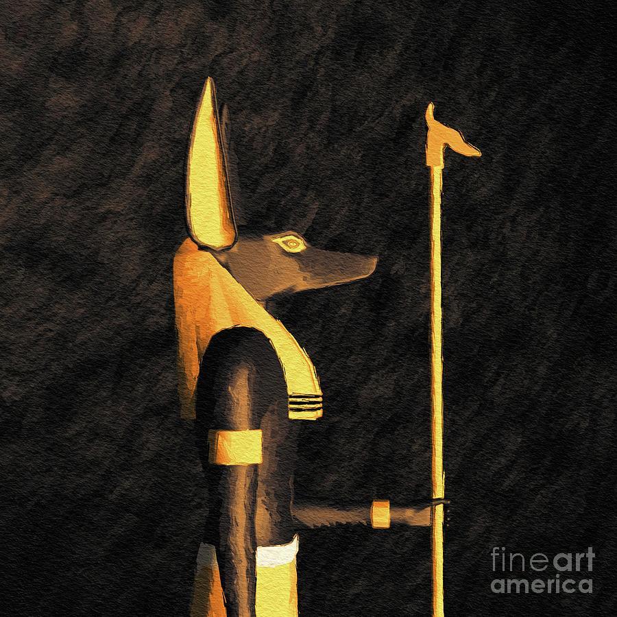 Anubis, God Of Egypt