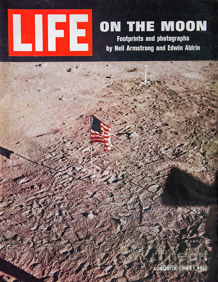 Apollo 11 Life Magazine Cover by Kevin McCarthy