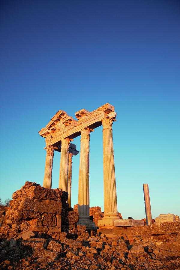 Apollo Temple Photograph by Barcin