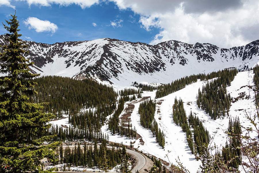 Arapahoe Basin Ski Area by Jeanette Fellows