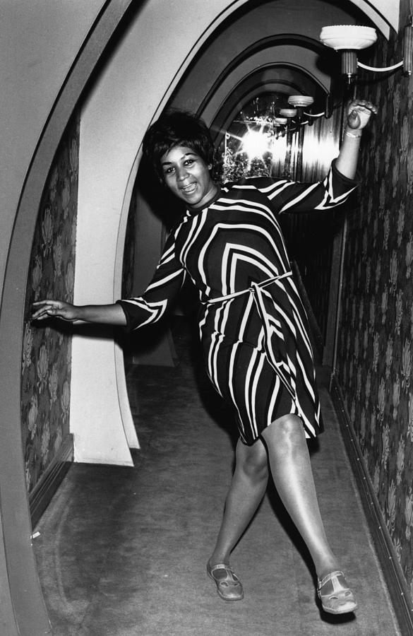 Aretha Franklin 1 Photograph by Express Newspapers
