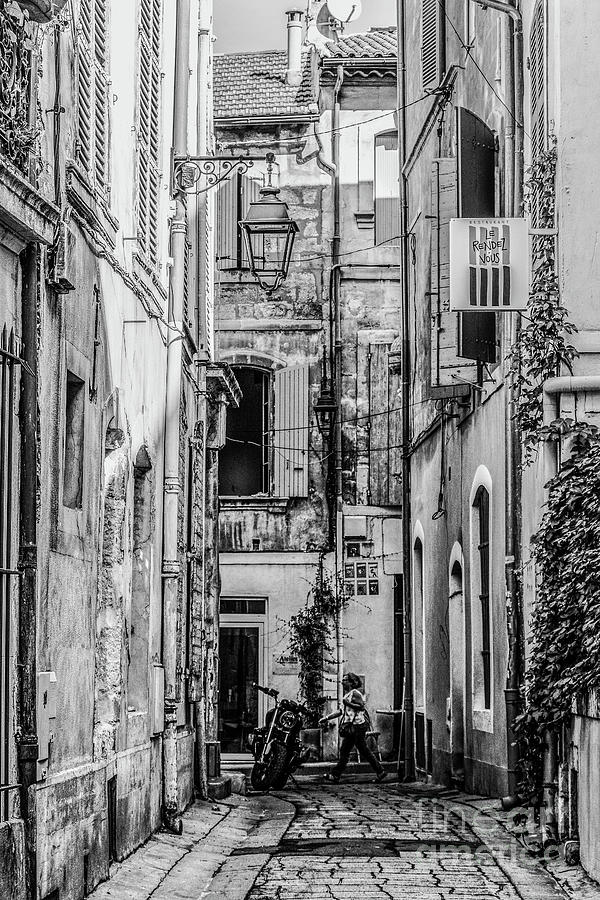 Arles Alley by Thomas Marchessault