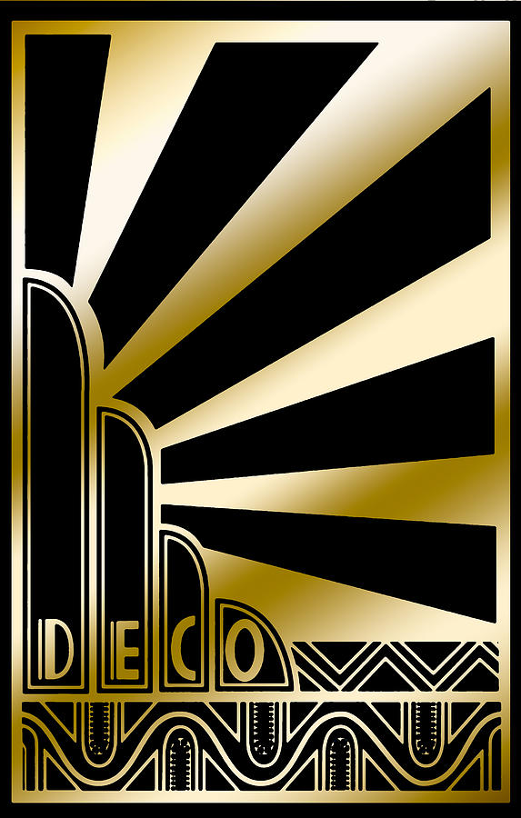 Art Deco Poster 2019 by Chuck Staley