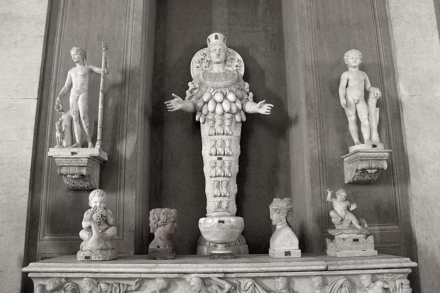 Artemis of Ephesus in the Vatican Museum by Angela Rath