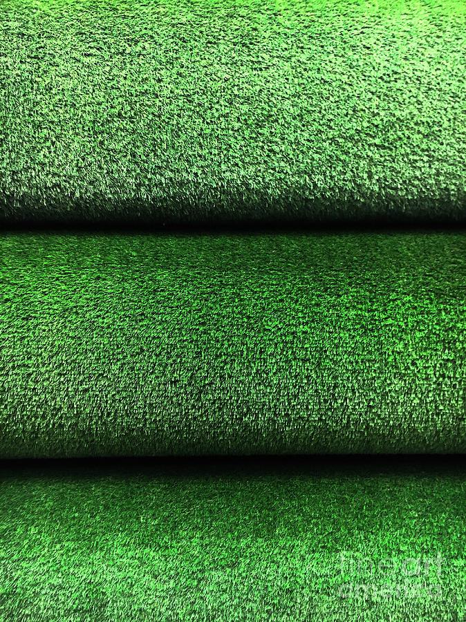 Artifical grass rolls  by Tom Gowanlock