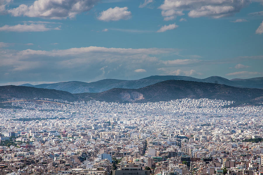 Athena City View Photograph by Paul Boyden - Polimo