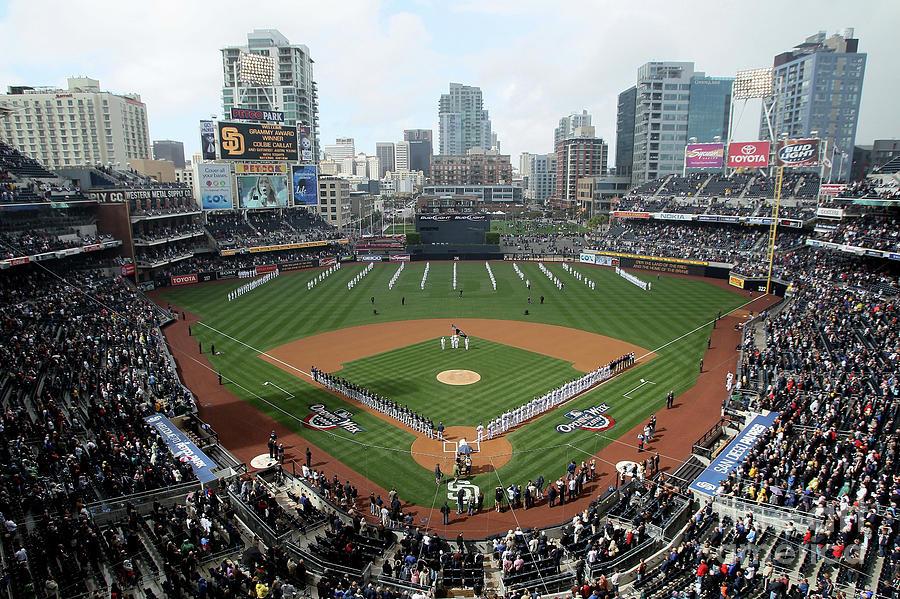 Atlanta Braves V San Diego Padres Photograph by Stephen Dunn