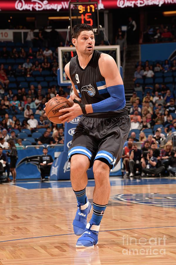 Atlanta Hawks V Orlando Magic Photograph by Gary Bassing