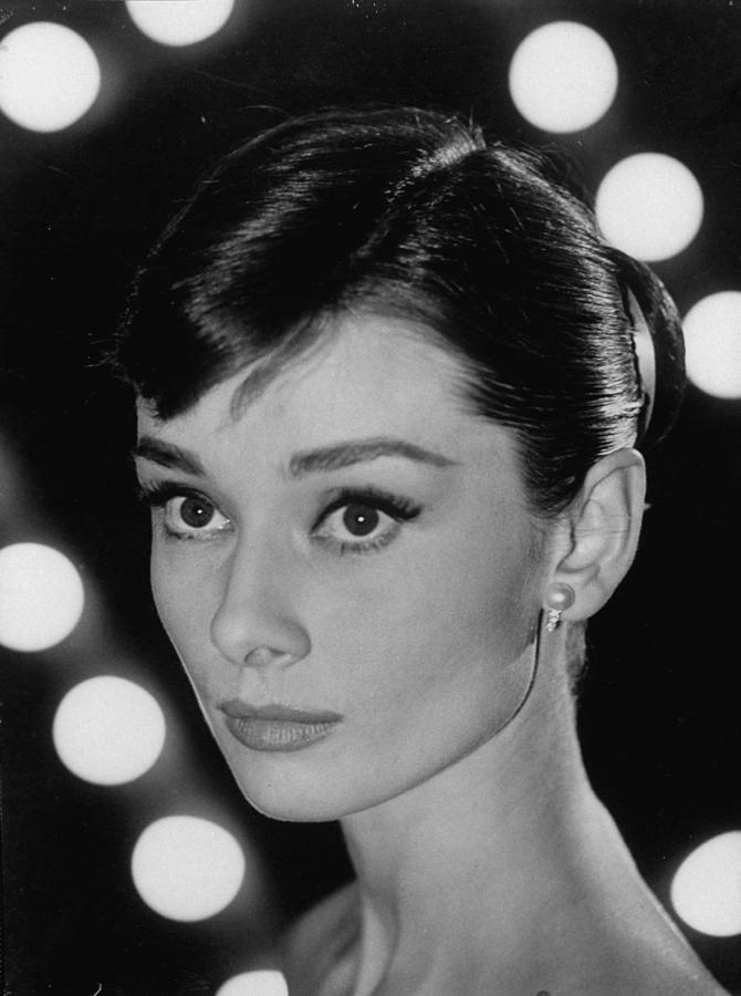 Audrey Hepburn 1 Photograph by Allan Grant