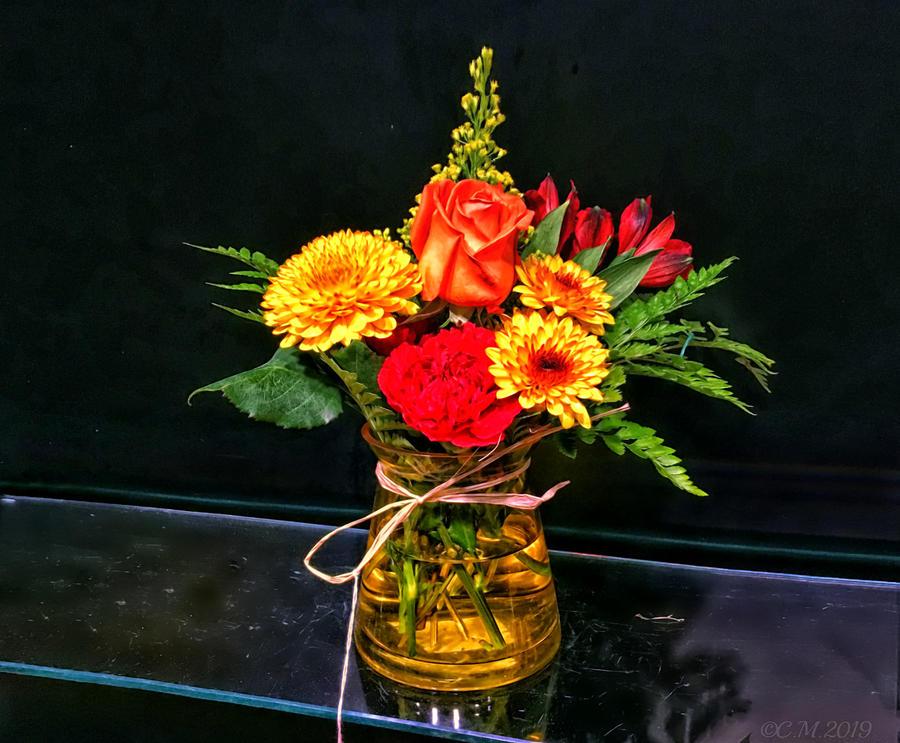 Autumn Arrangement by Catherine Melvin