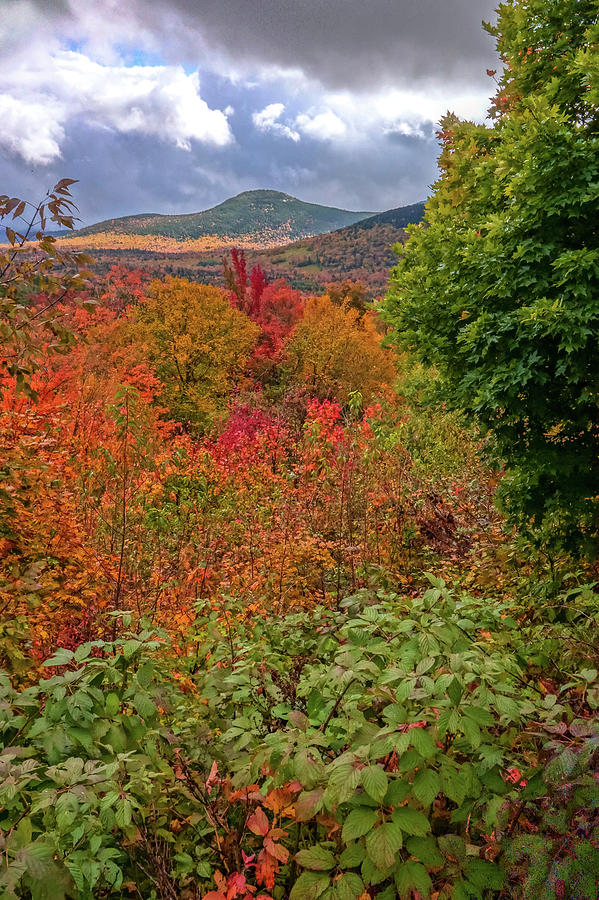 Autumn Beginnings In New Hampshire by Dan Sproul
