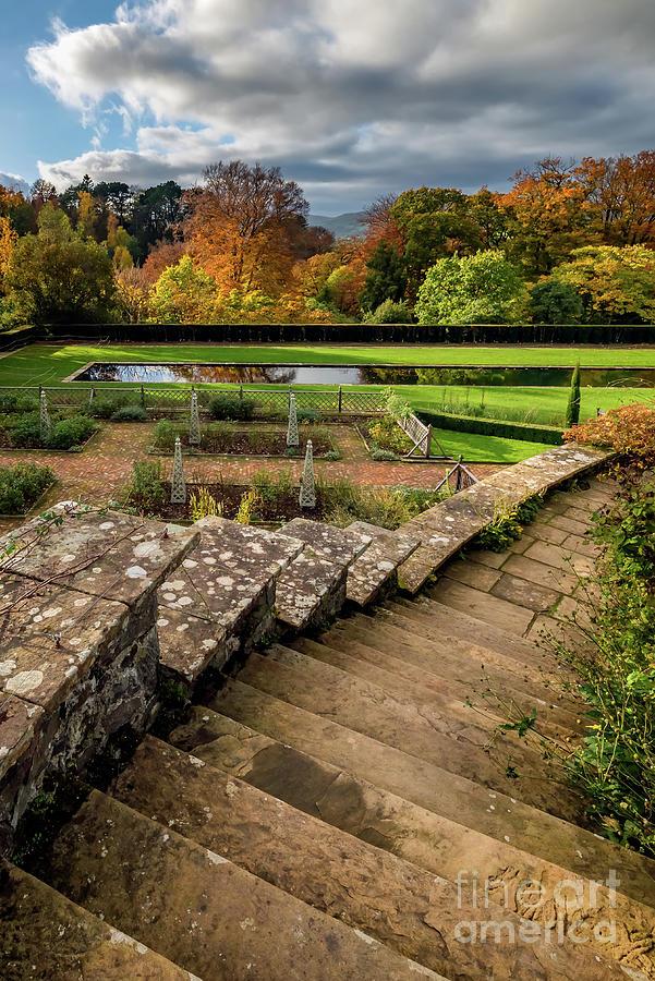 Autumn Photograph - Autumn Garden by Adrian Evans