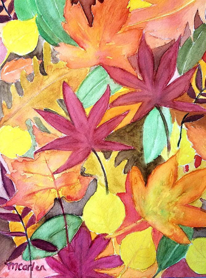 Autumn Leaves by M Carlen