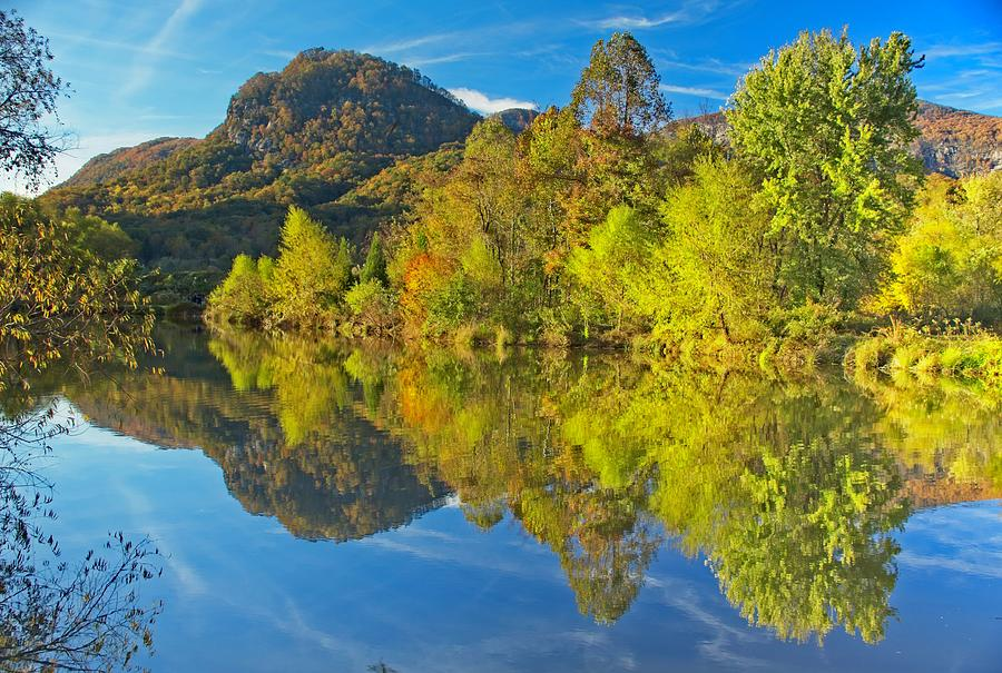 Autumn Reflections by Allen Nice-Webb