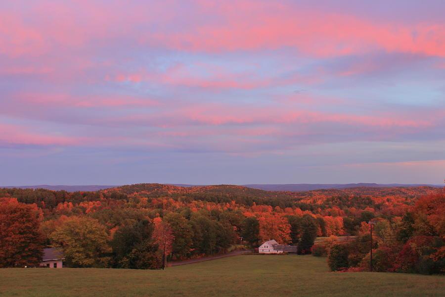 Autumn Sunset by John Burk